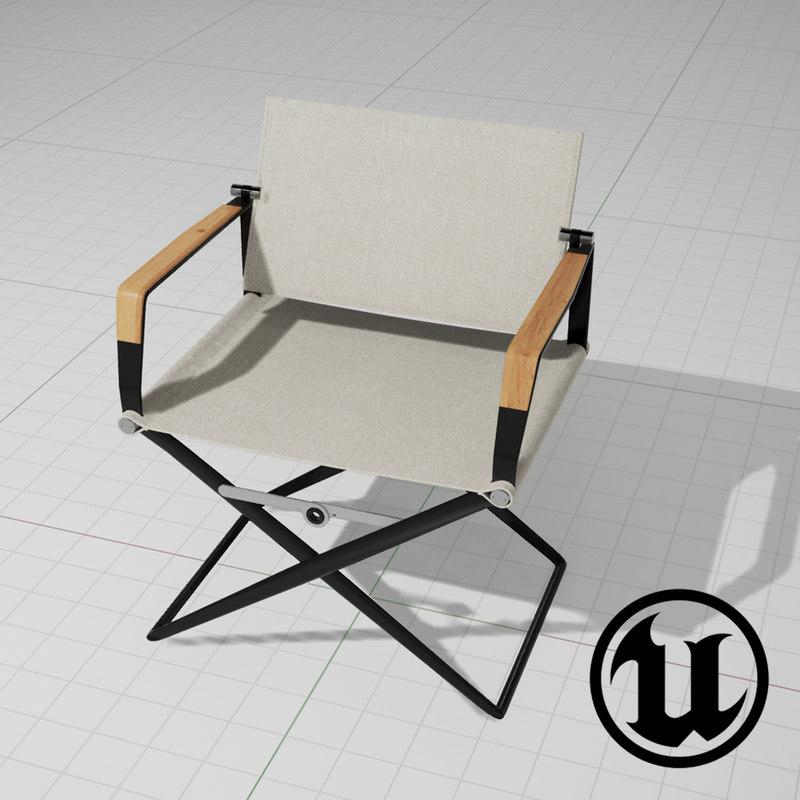unreal dedon seax chair 3d x