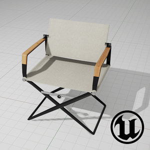 unreal dedon seax chair 3d x