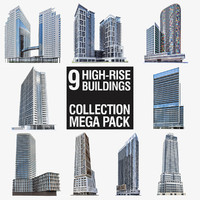 High-rise Buildings Megapack
