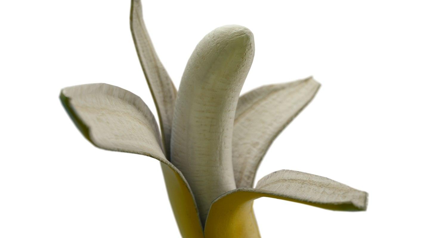 open banana 3d model