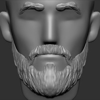 hairstyle ztl zbrush 3d obj
