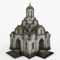 spassky cathedral 3d model