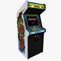 obj arcade centipede