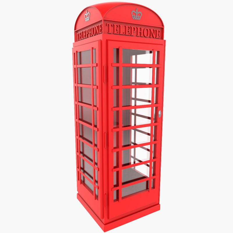 max red phone box