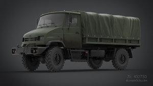 3d transport truck