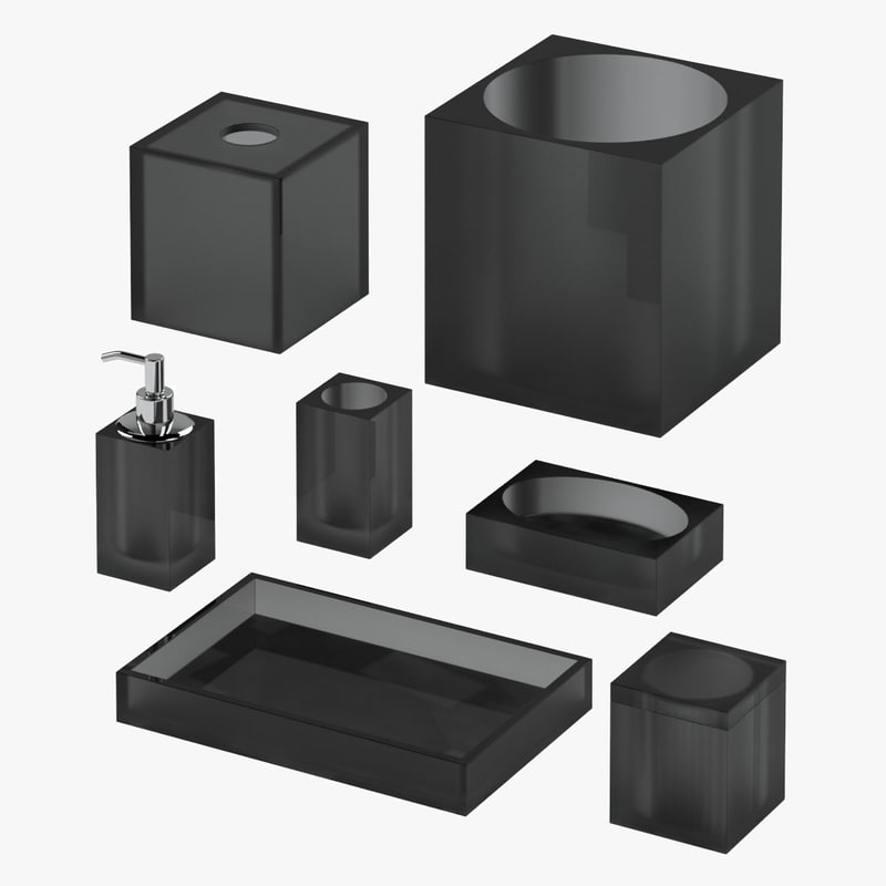 bath accessories 02 3d max