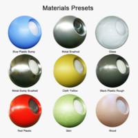 Materials Presets