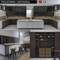 kitchen varenna arthena 3d model