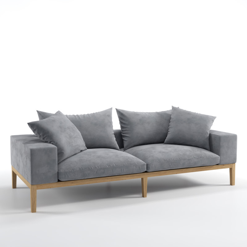 3d model dialma brown db004722 sofa