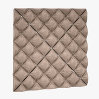 capitone wall panel 3d max
