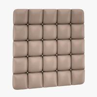 3d max capitone wall panel