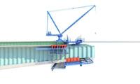 bridge hanging basket 3ds