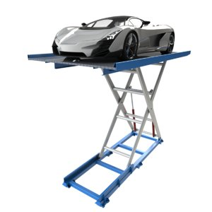 scissor lift car parking 3ds