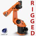 kuka robot kr 30-3 3d model