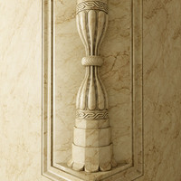 column kum saatleri 3d model