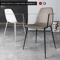 3d max chair marguerite armrests
