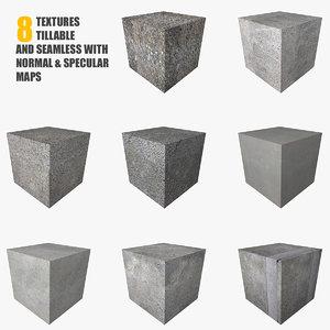 Concrete Texture Set