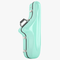 bam case saxophone 3d 3ds