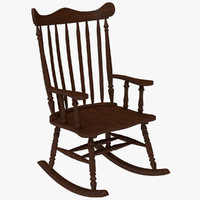 Rocking Chair Red Cherry