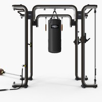 3d model omnia gym functional training