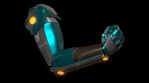 3d model robotic arm