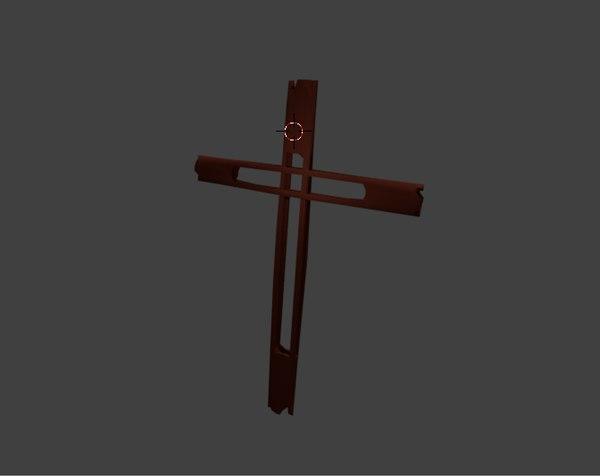 3d crucifijo model