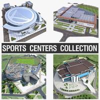 3d model sports center