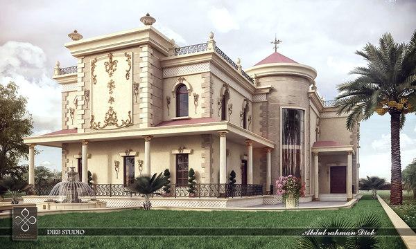 3d villa classic