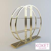Bookcase Decadence by Koket