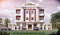 3d building classic model