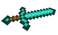 3d minecraft sword