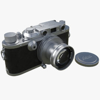 leica iii 3d model