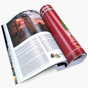 magazines open 3d 3ds