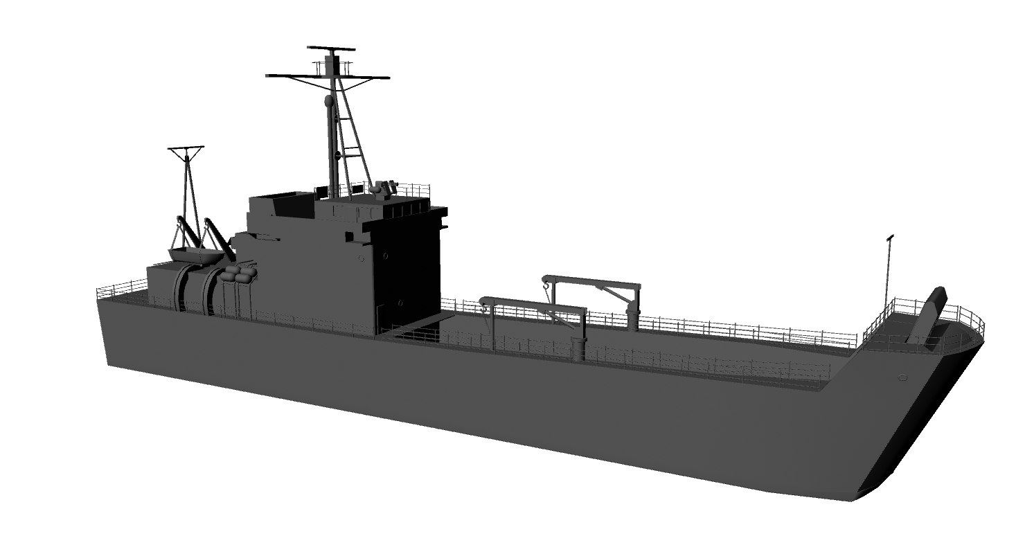 3d lcu model