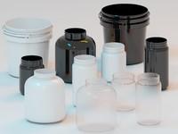 plastic pots 3ds