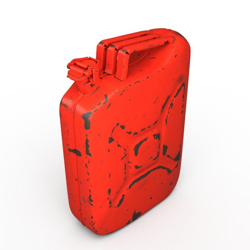 rusty 3d model