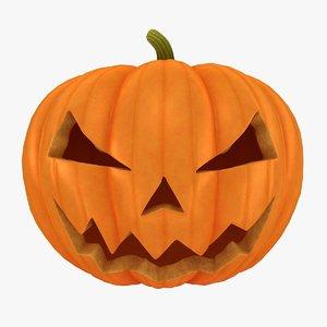 halloween pumpkin 3d 3ds
