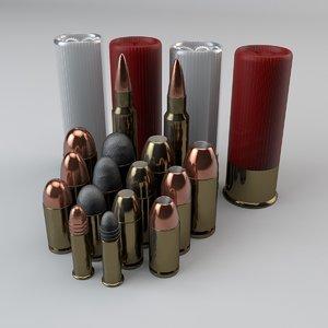 ammo pack 3d model