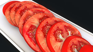 obj tomato slices