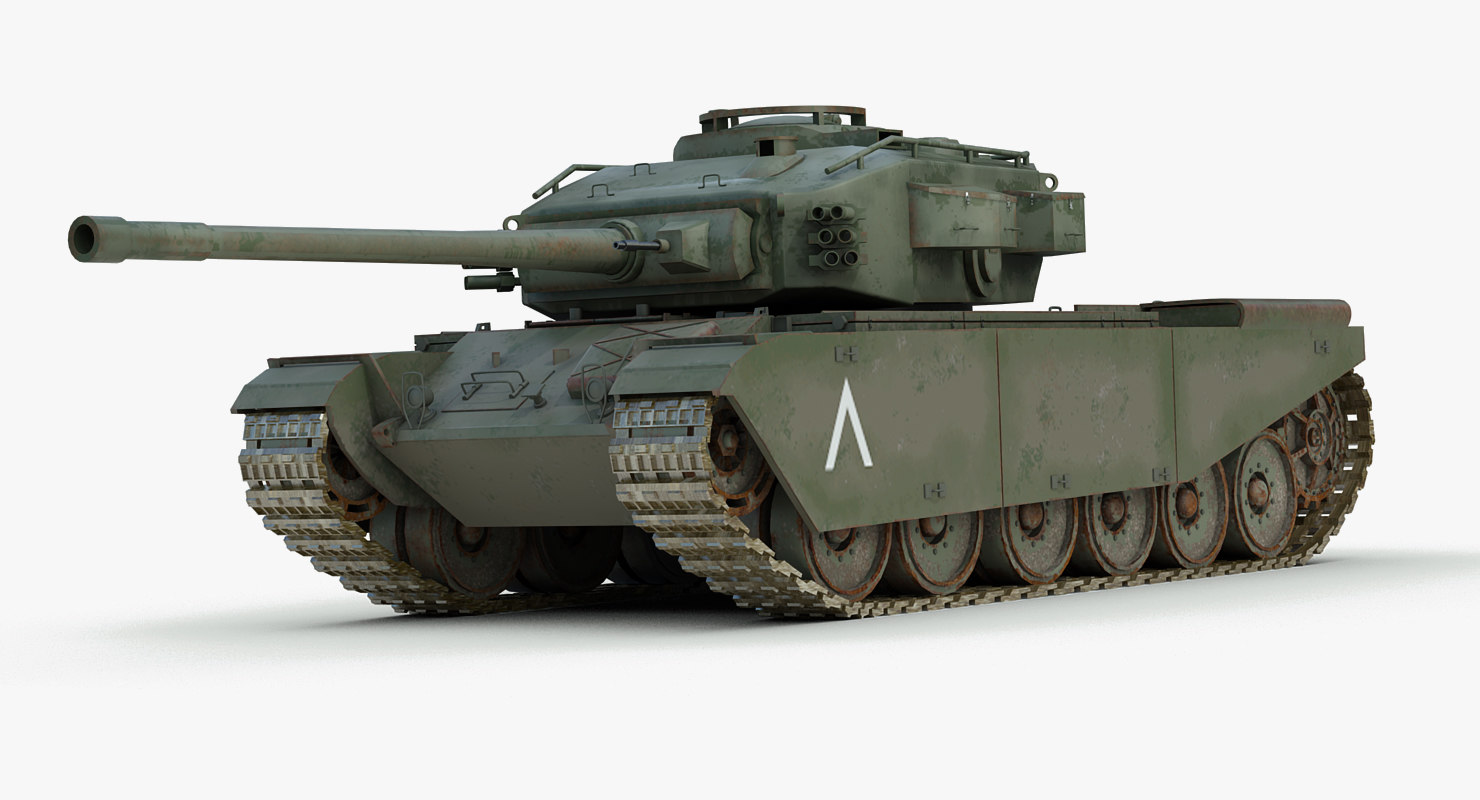 ww2 centurion mk5 tank obj