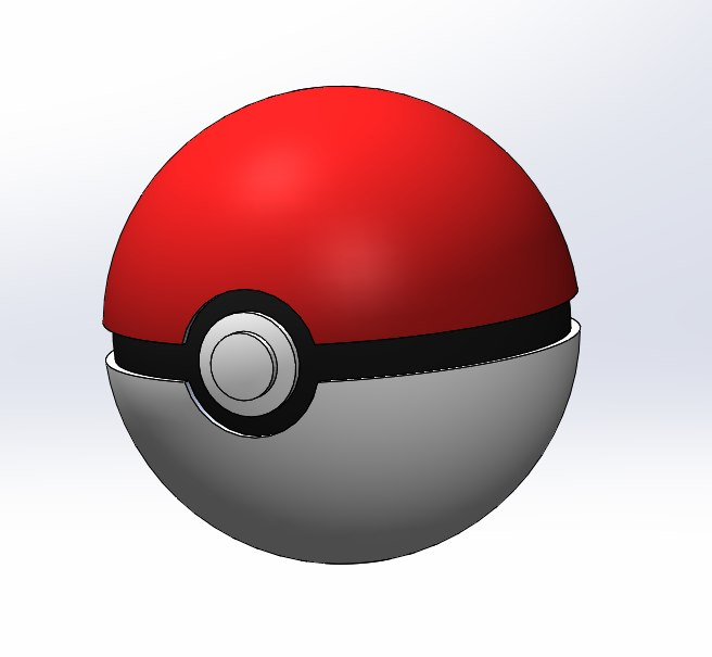 pokeball ball obj