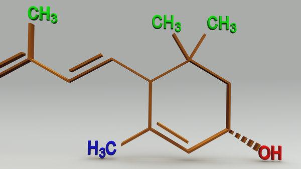 xanthophyll structure obj