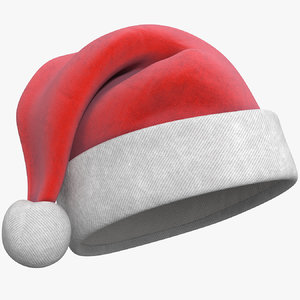 3d christmas hat