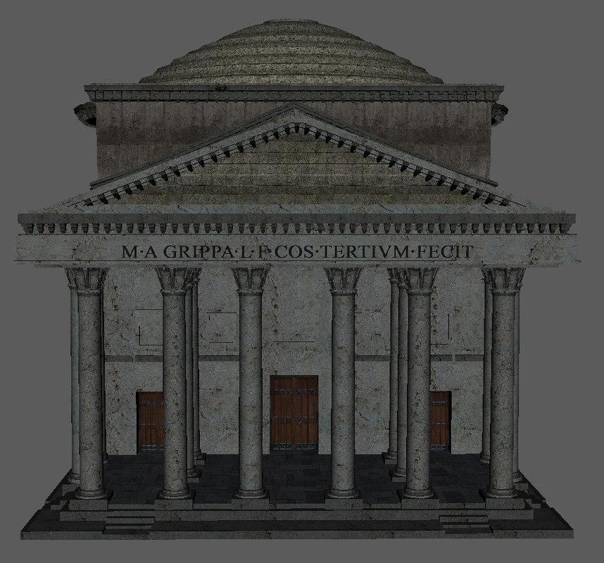 万神殿,罗马。