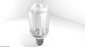 3d model bulb spread