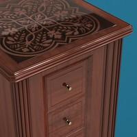 classic cabinet 3d obj