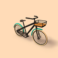 bike public transport c4d
