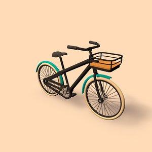 bike public transport c4d