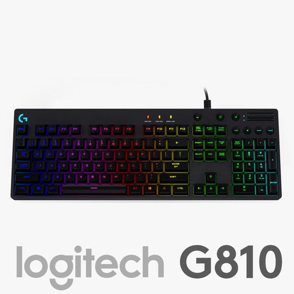 logitec g810 orion spectrum 3d 3ds