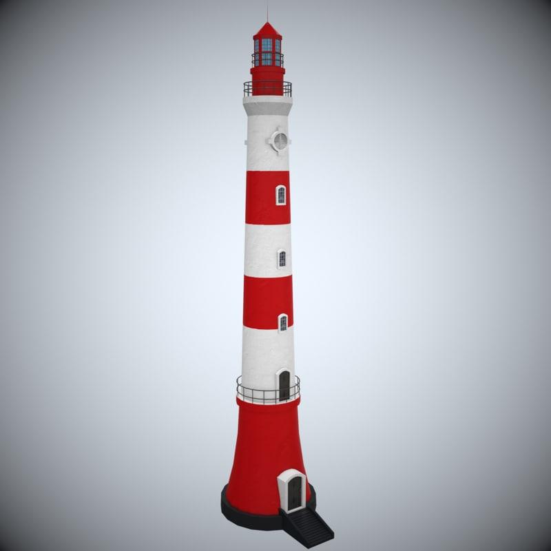 max lighthouse modeled
